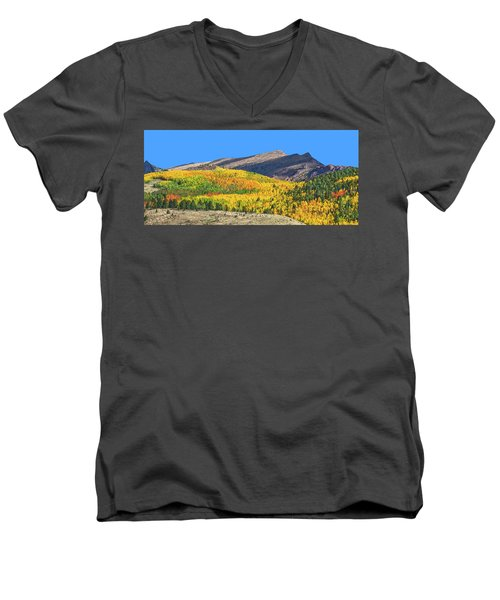 Arcas Is The King Of Arcadia, The Home Of God Pan. Men's V-Neck T-Shirt by Bijan Pirnia