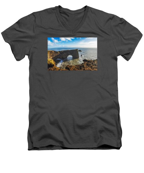 Arch Men's V-Neck T-Shirt