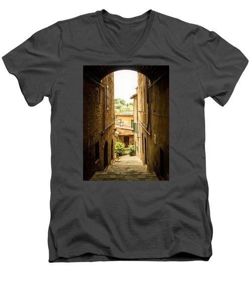 Arched Alley Men's V-Neck T-Shirt