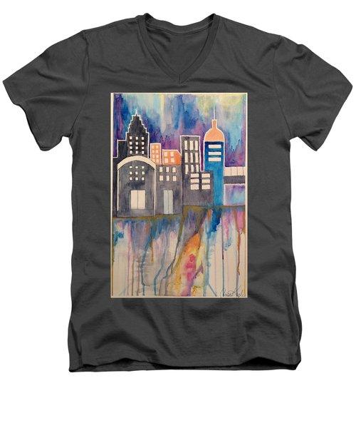 Arches Men's V-Neck T-Shirt