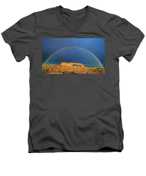 Arches Over The Arch Men's V-Neck T-Shirt