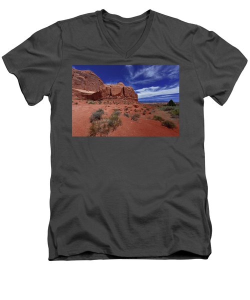 Arches Scene1 Men's V-Neck T-Shirt