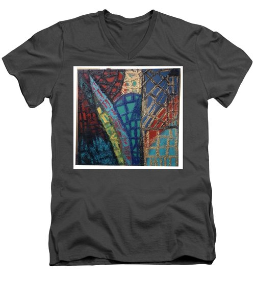 Architectuaral Bent,   Men's V-Neck T-Shirt