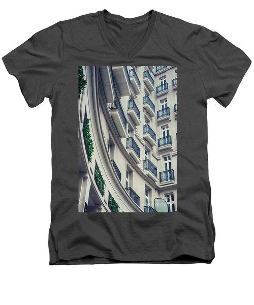 Architecture Background  Men's V-Neck T-Shirt