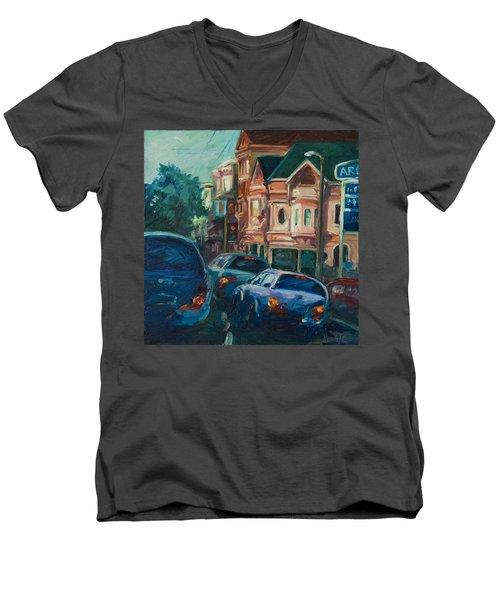 Arco Men's V-Neck T-Shirt by Rick Nederlof