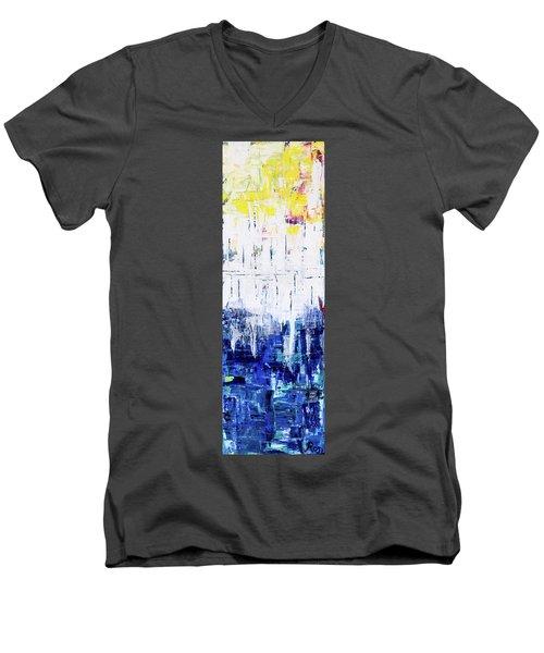 Arctic Spring Men's V-Neck T-Shirt