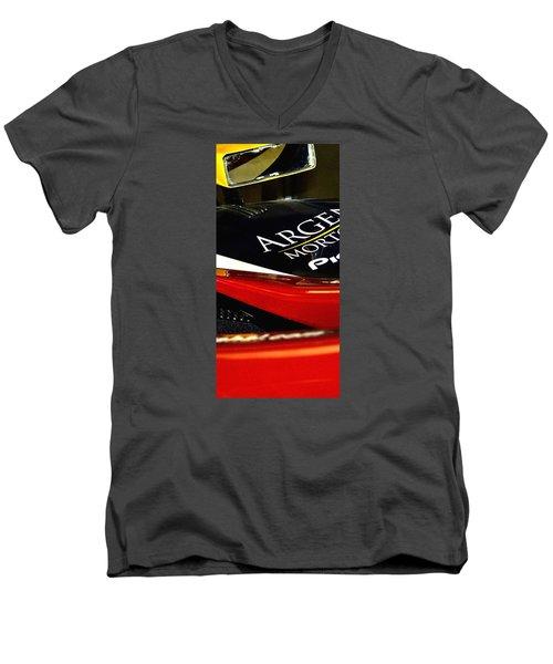 Argent Mortgage Pioneer 21162 Men's V-Neck T-Shirt