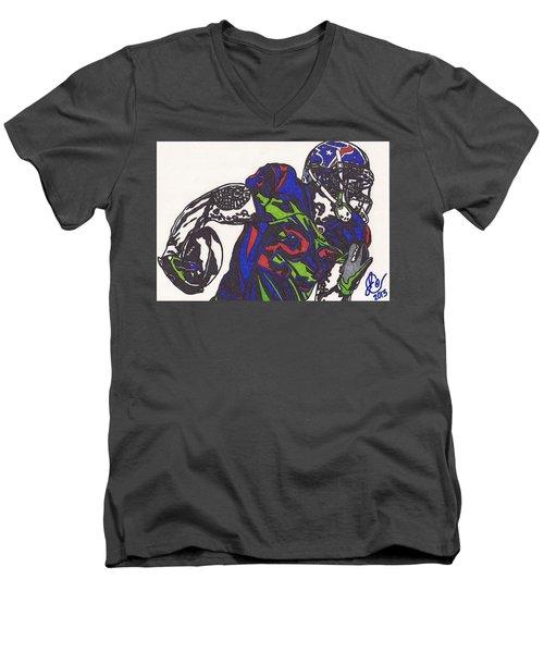 Arian Foster 1 Men's V-Neck T-Shirt