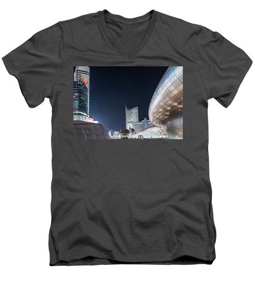 Aritficial Daylight Men's V-Neck T-Shirt