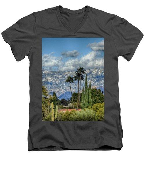 Arizona Snow Men's V-Neck T-Shirt