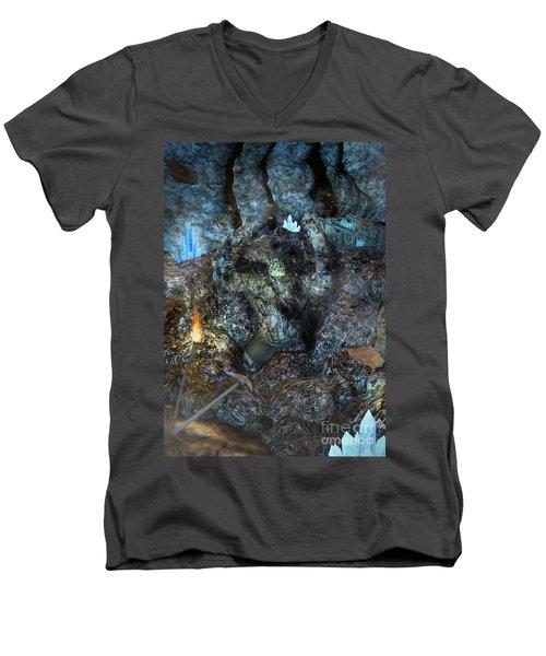 Armagh Men's V-Neck T-Shirt
