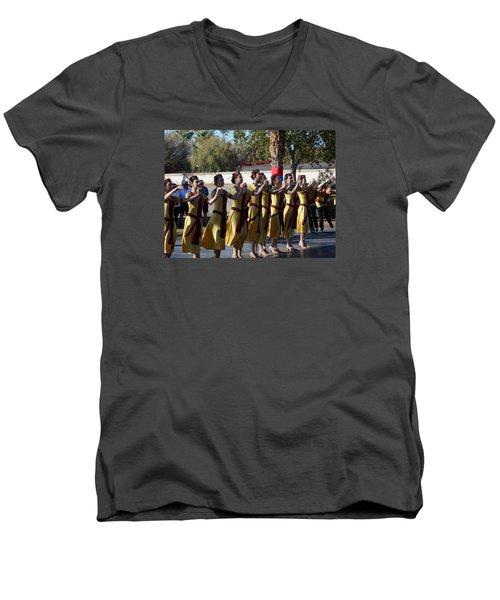Armenian Dancers 2 Men's V-Neck T-Shirt