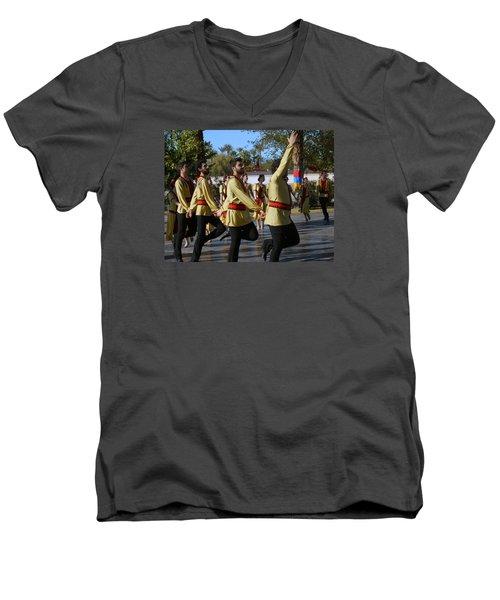 Armenian Dancers 6 Men's V-Neck T-Shirt