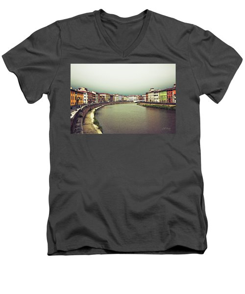 Arno Men's V-Neck T-Shirt by Joseph Westrupp