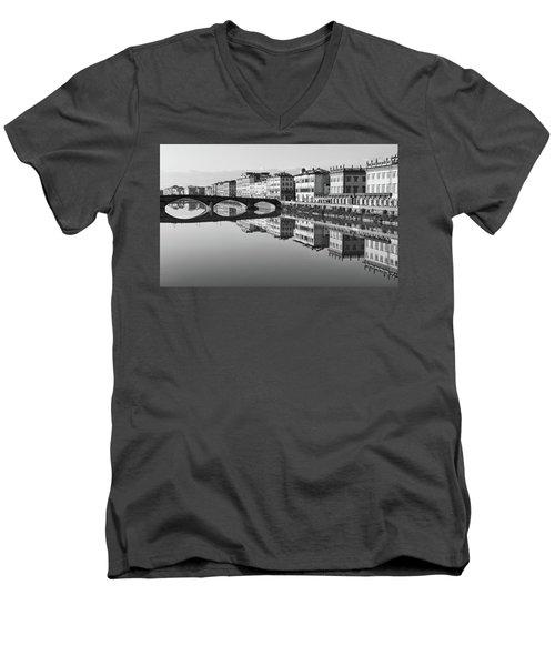 Arno Reflections 1 Men's V-Neck T-Shirt