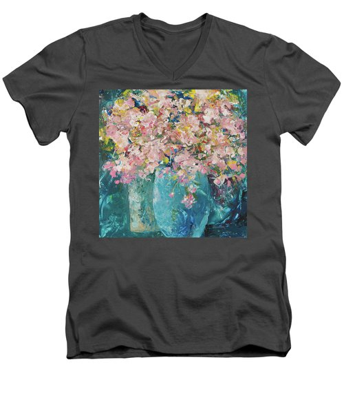 Aroma Therapy Men's V-Neck T-Shirt
