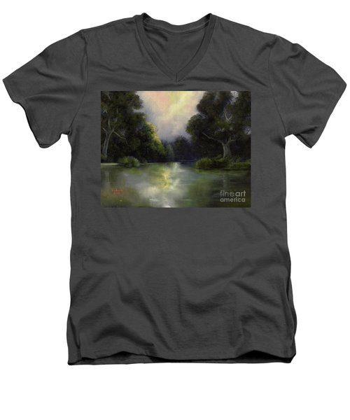 Around The Bend Men's V-Neck T-Shirt