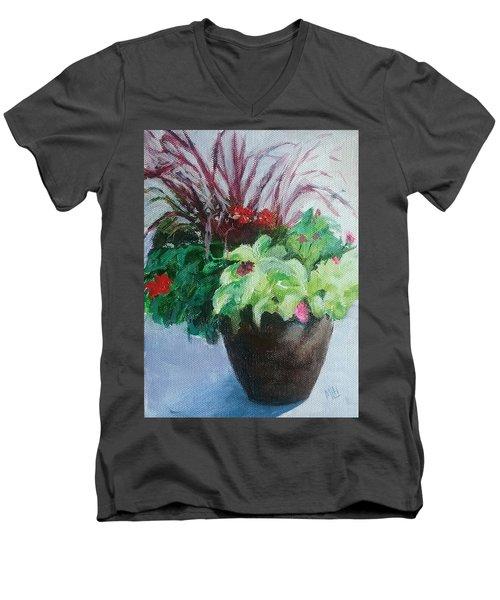 Arrangement Men's V-Neck T-Shirt