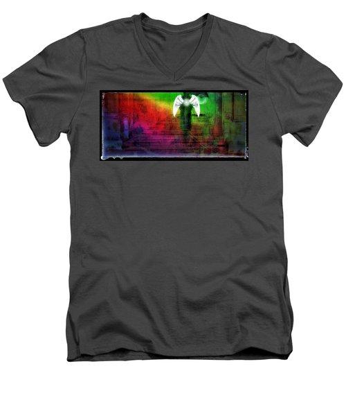 Arriving Men's V-Neck T-Shirt