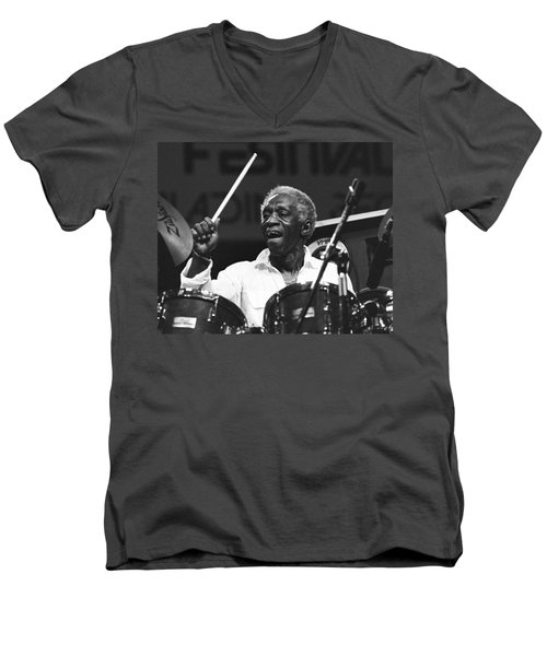 Art Blakey Men's V-Neck T-Shirt