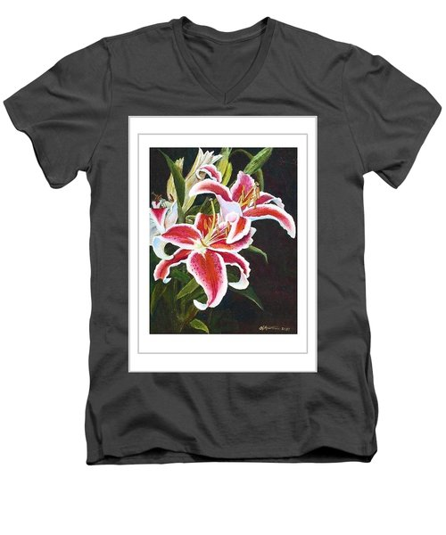 Art Card - Lilli's Stargazers Men's V-Neck T-Shirt