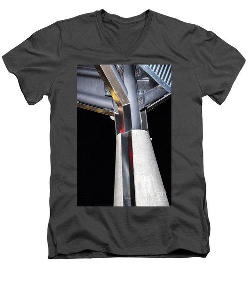Art Center Roof Support Men's V-Neck T-Shirt