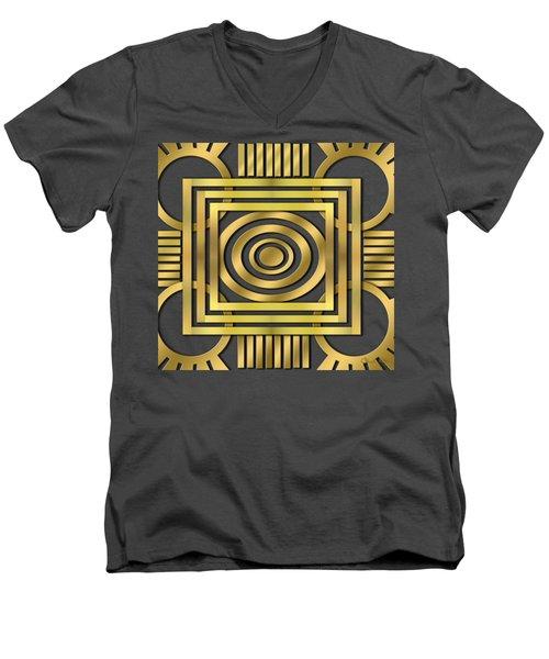 Art Deco 20 Men's V-Neck T-Shirt