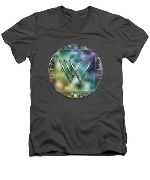 Art Deco - W Men's V-Neck T-Shirt