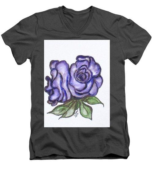 Art Doodle No. 26 Men's V-Neck T-Shirt
