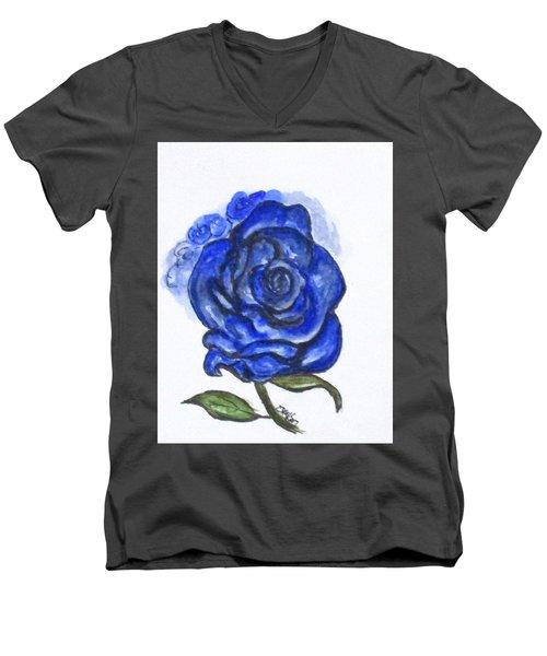 Art Doodle No. 27 Men's V-Neck T-Shirt