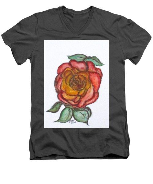 Art Doodle No. 30 Men's V-Neck T-Shirt