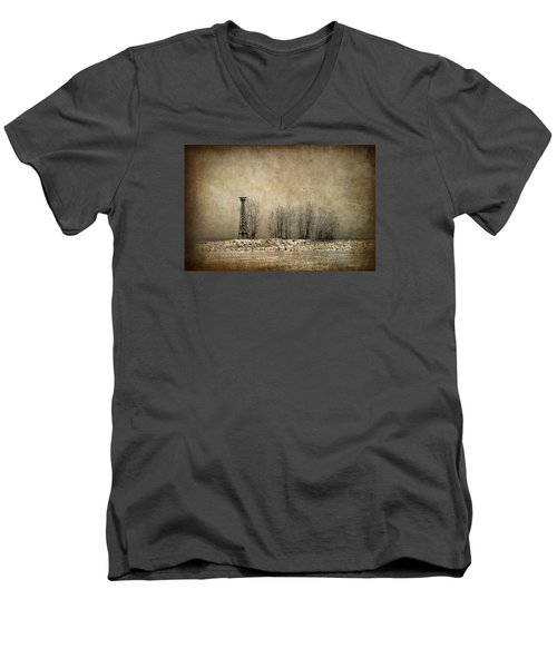 Art On The Beach Men's V-Neck T-Shirt