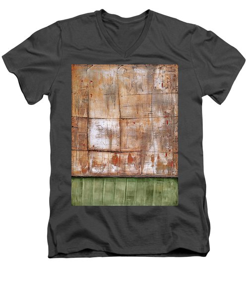 Art Print Abstract 35 Men's V-Neck T-Shirt