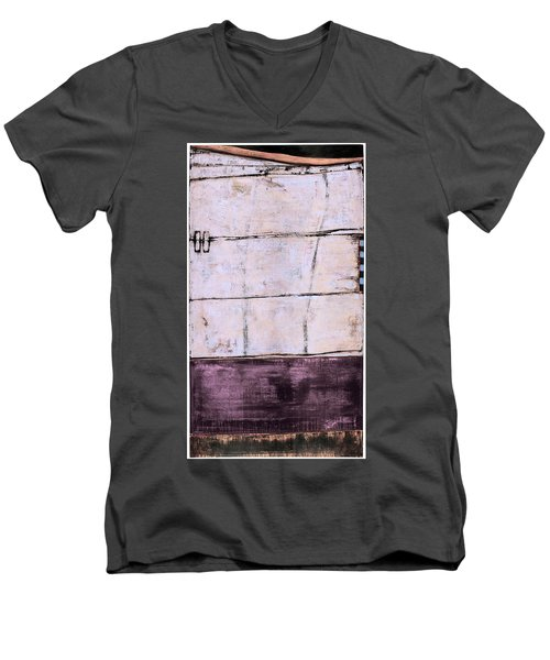 Art Print Abstract 100 Men's V-Neck T-Shirt