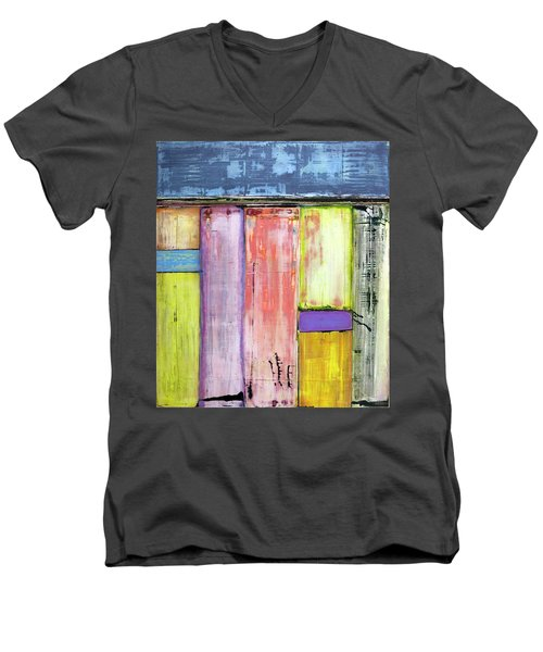 Art Print Abstract 47 Men's V-Neck T-Shirt