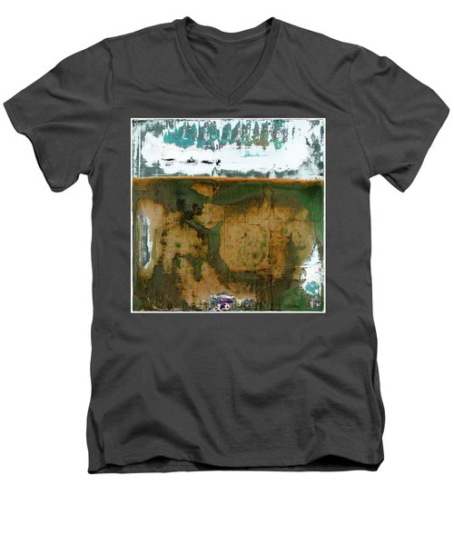 Art Print California 04 Men's V-Neck T-Shirt