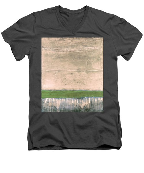 Art Print Nez Perce Men's V-Neck T-Shirt