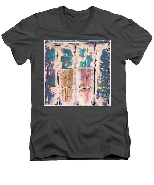 Art Print Square 8 Men's V-Neck T-Shirt