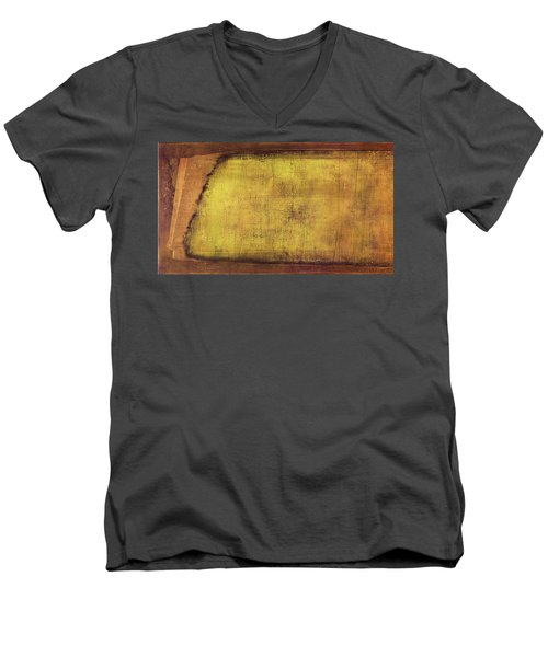 Art Print Terra Men's V-Neck T-Shirt