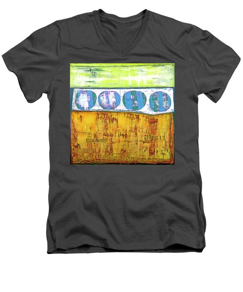 Art Print Venice Men's V-Neck T-Shirt