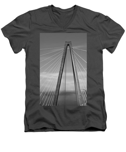 Arthur Ravenel Jr Bridge II Men's V-Neck T-Shirt