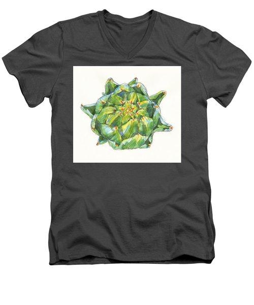 Artichoke Star Men's V-Neck T-Shirt