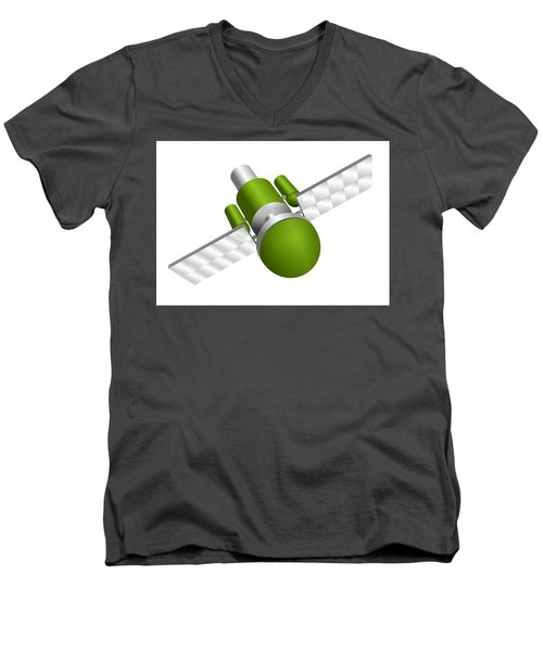 Artificial Satellite Men's V-Neck T-Shirt