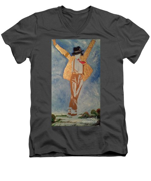 Artist Men's V-Neck T-Shirt