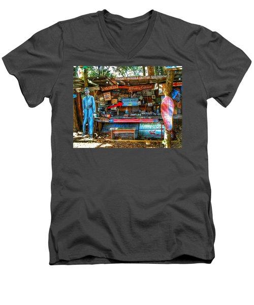 Artist Shop In Bluffton, South Carolina Men's V-Neck T-Shirt