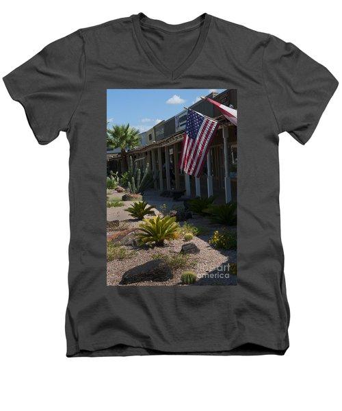 Cactus Amongst The Art Men's V-Neck T-Shirt