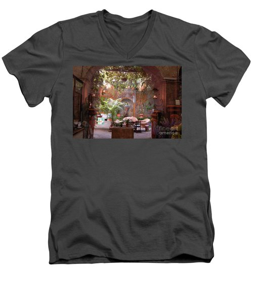 Artists' Studio In Sorrento Italy  Men's V-Neck T-Shirt