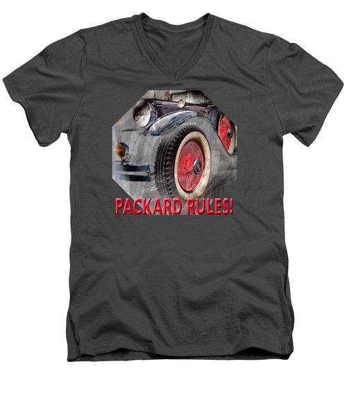 1930 Packard Men's V-Neck T-Shirt