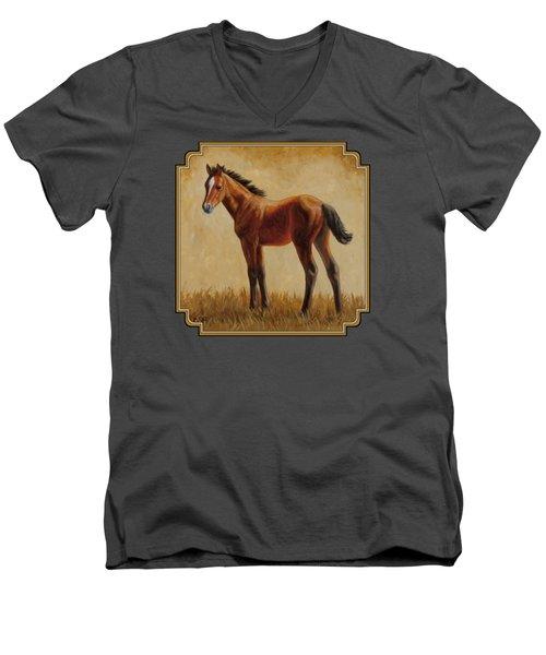 Afternoon Glow Men's V-Neck T-Shirt