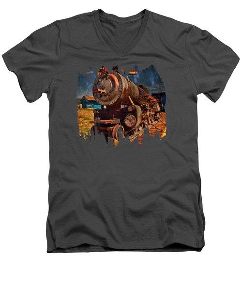 Old 44 Men's V-Neck T-Shirt by Thom Zehrfeld